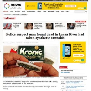 synthetic cannabis effects from news.com.au story